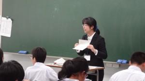 川辺先生の実習のようす