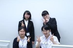 実習生と at PC教室