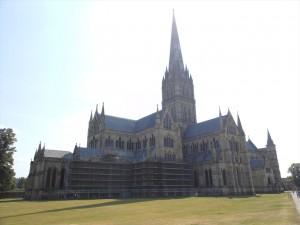 ソールズベリーの大聖堂①