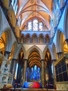 ソールズベリーの大聖堂②