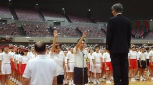 選手宣誓!