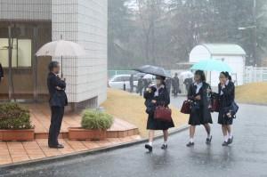 例え大雨の日でも!