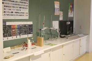 理科関係のイベントお知らせなども掲示されています。