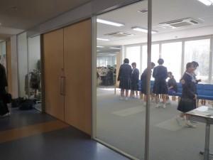 職員室の入り口