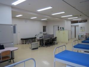 保健室到着!