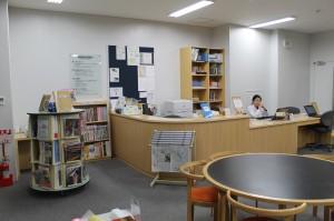図書カウンター!
