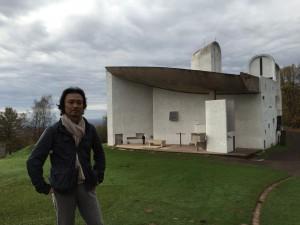 フランス_ロンシャンの教会